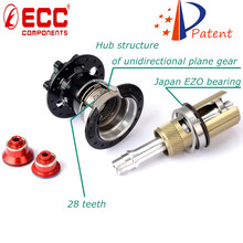 ECC bicycle components factory supply professional CNC machining bicycle hub gear / alloy mtb disc hubs