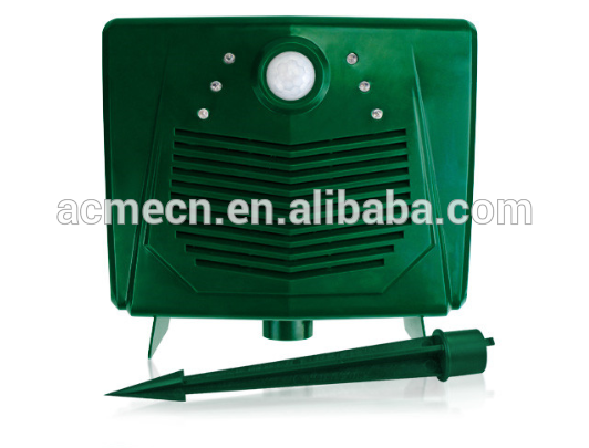 Multifunctional Ultrasonic Monkey Repeller/bird Trap/animal Repeller