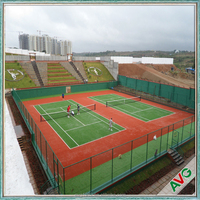 Short Grass High Density Cost - Effective Synthetic Grass Tennis Court