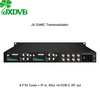 All in One DVB-S2/S to 4 in 1 QAM RF Modulator