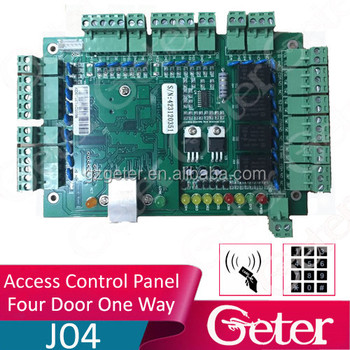 TCP/IP Four Door One Way Door Access Control System