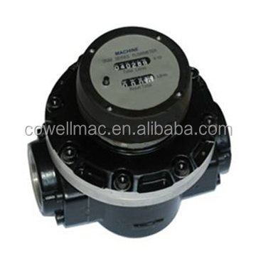 oval gear flow meter, mechanical fuel flow meter, Diesel Fuel Flow Meter