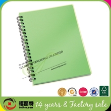 China supplier clear hard plastic covers pvc notebook