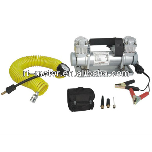 Air Compressor Car Auto Portable Pump Tire Inflator high vacuum pumps