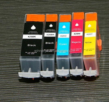 High Quality Compatible for Canon pgi-425/cli-426 empty ink cartridge with chips