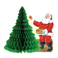 28g tissue paper honeycomb christmas tree