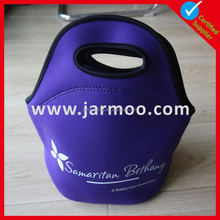 Discount price Logo brand neoprene wine carrier