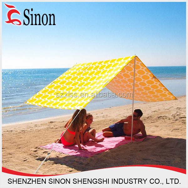 Hot sale inflatable pvc clear inflatable sunshade beach tent