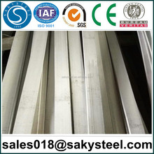 stainless steel flat bar weight per meter