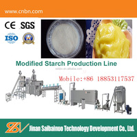 High quality full automaitc modified starch processing machine