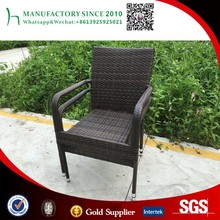 Wholesale pvc rattan wicker chairs cheap price garden furniture