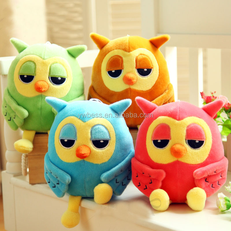 plush stuffed soft owl toy fot hold pillow /owl doll plush toy