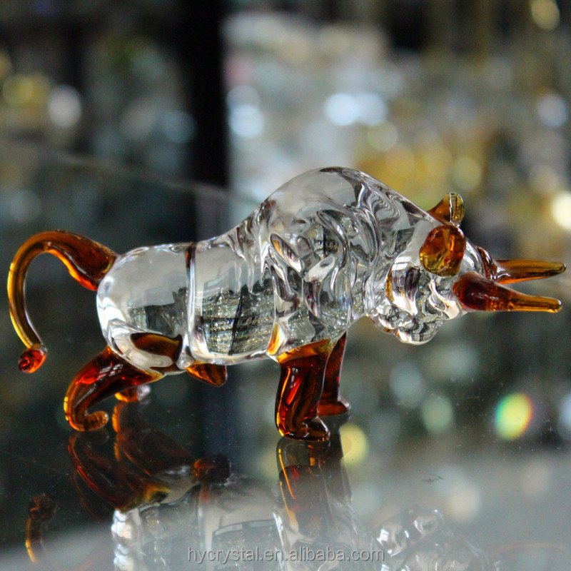 2016 new sale blown murano glass pipes animal shaped figurines