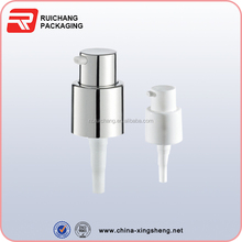 small plastic pump for bottle 18mm neck