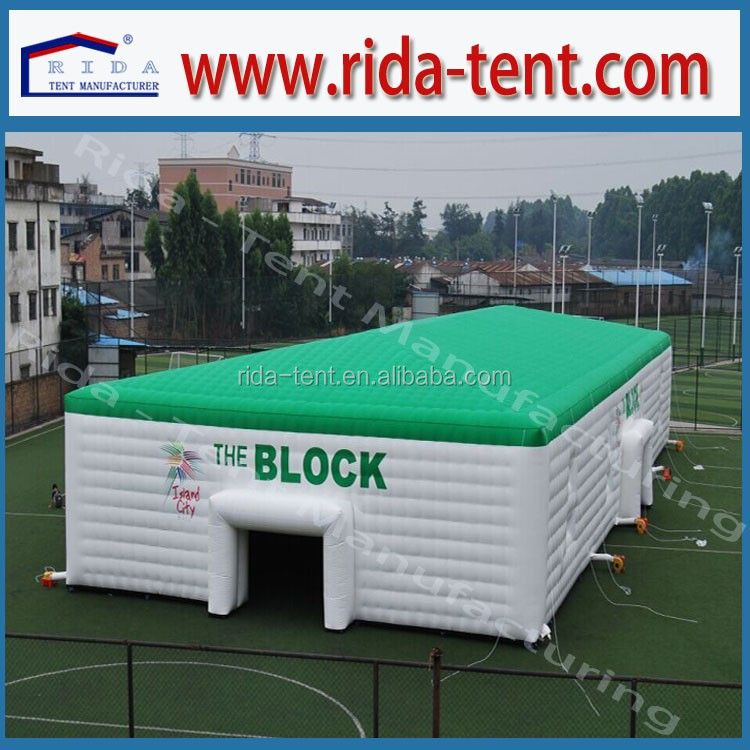 Fatory price PVC tent inflatable, customized inflatable tent for sale