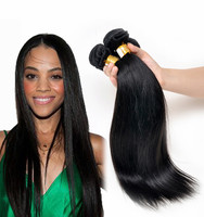 most selling products 16 inches straight indian remy hair extensions