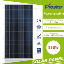 Prostar tire 1 A grade poly crystalline silicon 72 cells 300 watt 310 watt solar photovoltaic panel module with CE/TUV