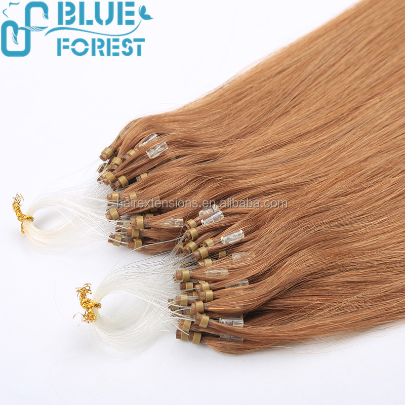 2016 Hot New Hair product! Top quality 30 inch micro ring hair extensions