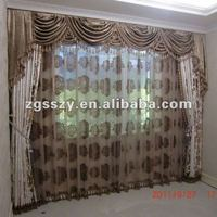 100%Polyester Double Swag Shower Curtain