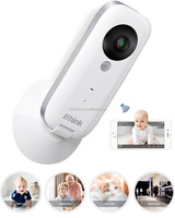 Super clear high difinition video wireless cctv system with unique double alarm functions