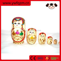 Wooden Russia Gift Nesting Doll