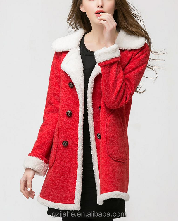 2015 Autumn And Winter New Women Double-breasted Cashmere Coat Jacket