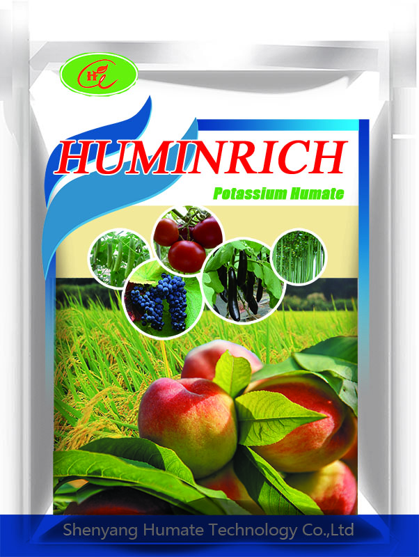 Huminrich Pure Potash Fertilizer Potassium Humate Axit Humic 95%