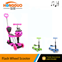 5 in 1 boys kick scooter / bicycle kick scooter scooter for kids