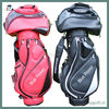 ladies red black golf carry bag factory