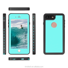 Fashion TPU+PC Waterproof Shockproof Dustproof Snowproof Phone Case for Apple iPhone 7 Plus 5.5''