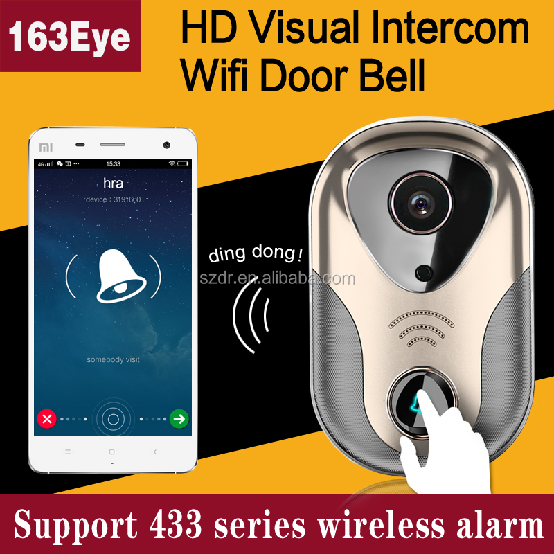 Smart home Night Vision Infrared 720P voice recording doorbells <strong>L1</strong>