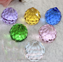 High quality beads wholesale decoration 40mm crystal chandelier ball
