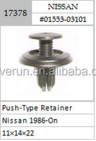 BUMPER & FASCIA PUSH-TYPE RETAINER 22MM