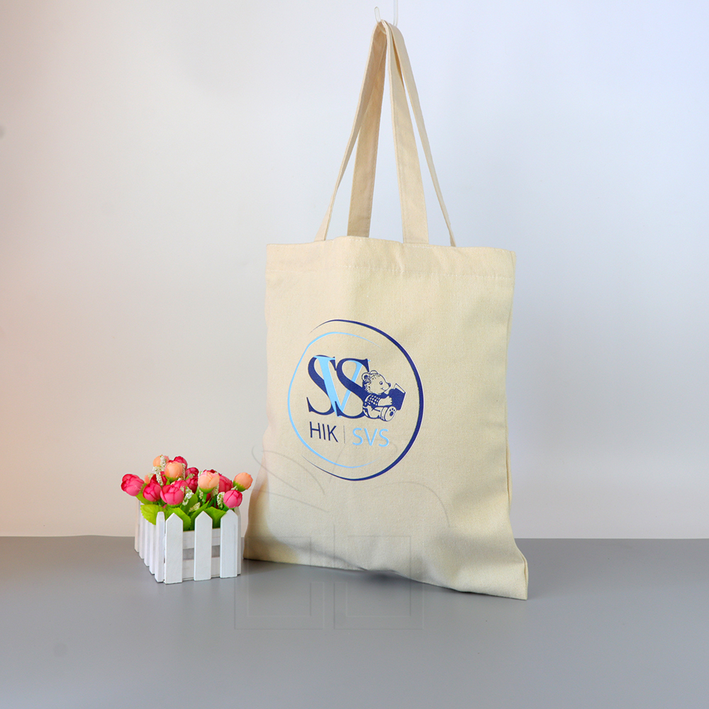 MOQ 300PCS Customized cotton tote bag promotion