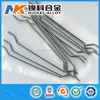 Steel synthetic concrete reinforcing fibers