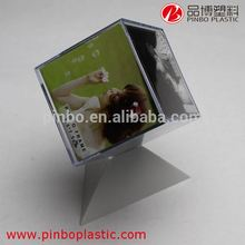 sexy girl photo frame for 8*8*8 size, Rotating Acrylic Cube 3d photo frame,Fashion waterproof outdoor picture frames