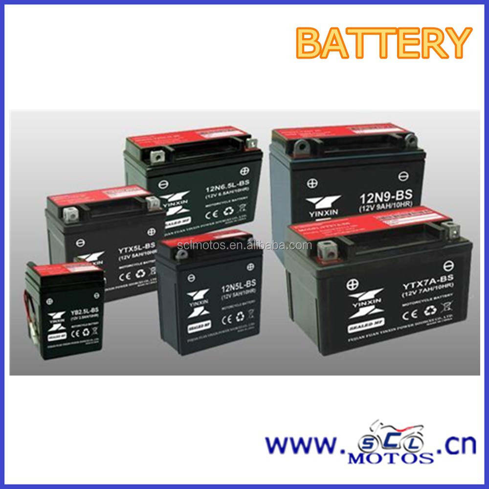 SCL-2013020334 Power Safe Dry Battery 12V 6.5Ah Motorcycle Battery