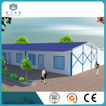 golden china supplier sandwich panel house cheap prefab homes for Libya