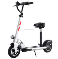 2017 Best sale mobility Cheap 2 wheel standing electric scooter with seat for adults in the coming market