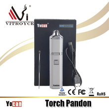Alibaba electronic cigarette new vape devices built-in battery starter kit Yocan Pandon wax kit from china manufacturer
