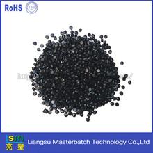 abs/hips/pa/pp/pvs/pc pellets plastis raw materials black masterbatch for plates