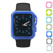 China manufacturer wholesale hot selling protective case for apple watch clear tpu 38/42mm cover