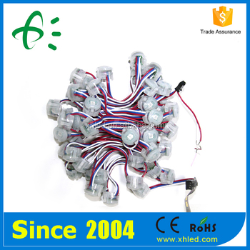CE ROHS 30000H Lifespan 20mm Diameter Full Color RGB LED Pixel