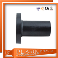 Different Types Of Rigid Pe Pipe Fitting Stub End/Flange Adaptor
