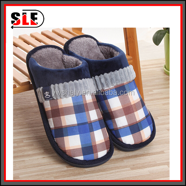 Fashion Winter Slippers Women Men Warm Flat Home Slippers Bedroom Slippers Singapore