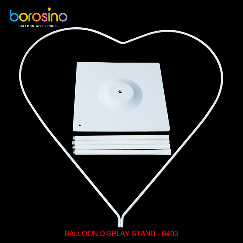 B403 Wedding And Party Decoration Heart Balloon Display Stand