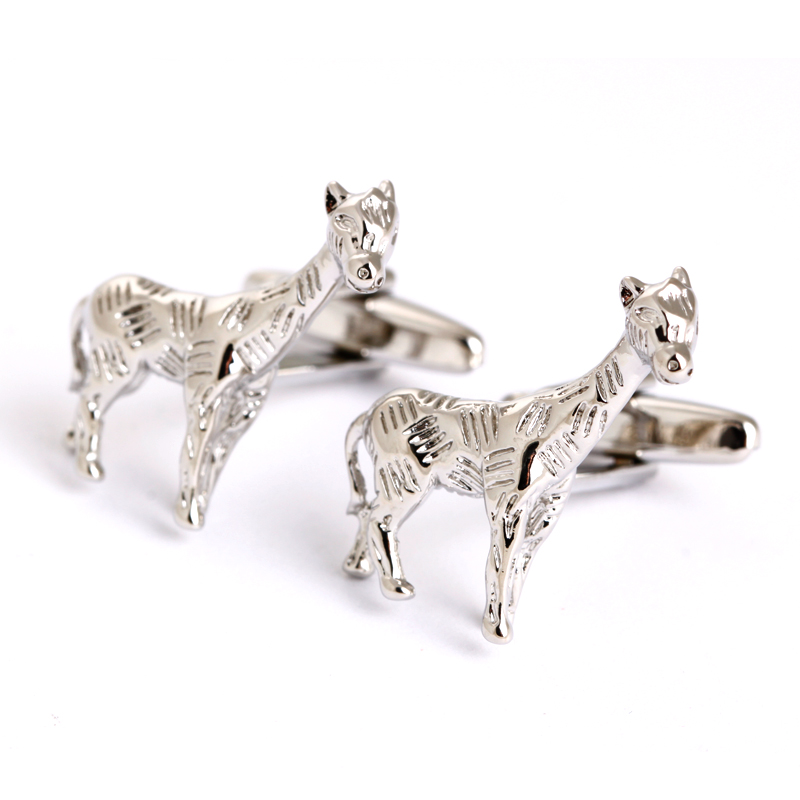 Novelty cufflinks sliver animal cufflinks mens shirt