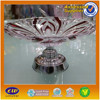 large colored decorative glass fruit plate manufacturer