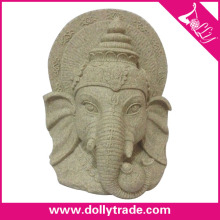 Promotional Handmade Table Resin Elephant Head For Decor