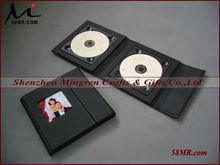 Wedding CD/DVD Cases Leather CD/DVD Cases,dvd wedding box,Booklet CD DVD Case